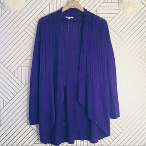 Eileen Fisher | Purple Cardigan